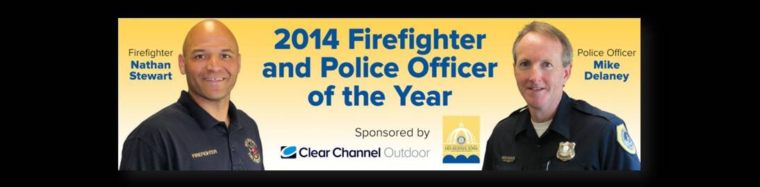 Police and Firefighter of the Year 2014